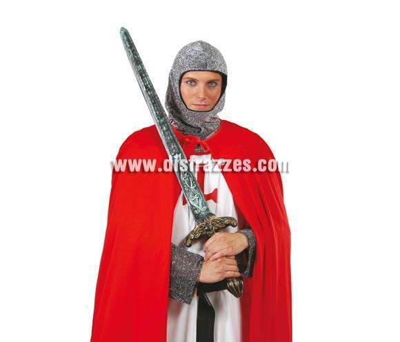 Espada de Caballero Medieval de 90 cm. Espada bárbaro 90 cm.