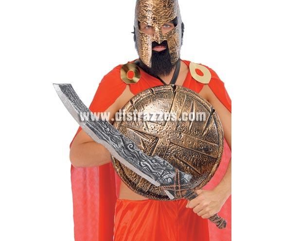 Espada de Bárbaro o Espartano de 86 cm.  ¡¡Compra tu complemento para el disfraz de Carnaval en nuestra tienda de disfraces, será divertido!!