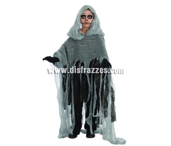 Disfraz de Hombre de las Tinieblas para Halloween Infantil barato. Talla única de 7 a 10 años. Incluye traje.