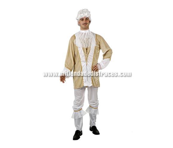 Disfraz de Príncipe de Época adulto. Talla única 50/54. Peluca NO incluida, podrás verla en la sección Complementos.
