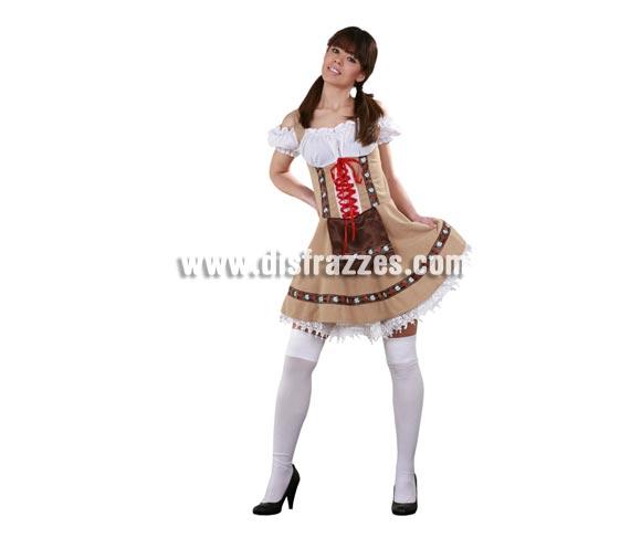 Disfraz de Tirolesa Sexy para mujer. Talla standar M-L 38/42. Incluye vestido y enaguas. Un disfraz muy chulo además de Sexy genial para Carnaval y para cualquier Fiesta de la Cerveza.