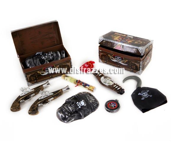 Set de accesorios de Pirata de 24x12x14 cms. Cuatro modelos surtidos.