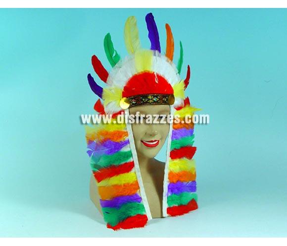 Penacho Indio para Carnavales. Dos modelos surtidos.