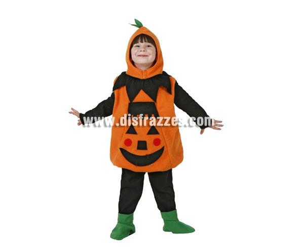 Disfraz de Calabaza feliz bebé para Halloween. Talla de 1 a 2 años.