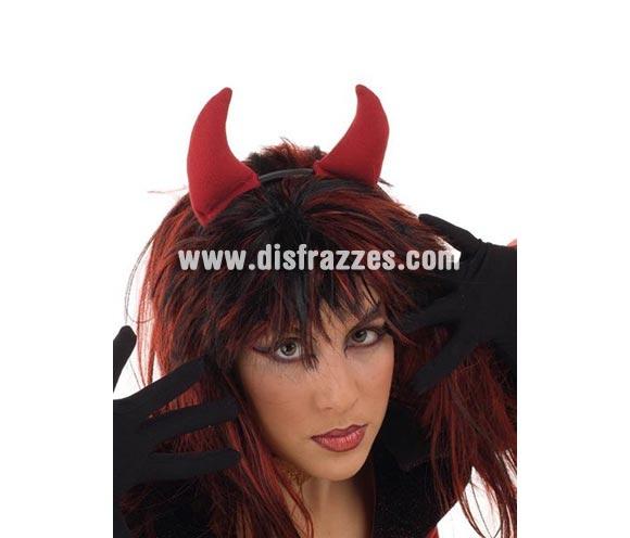 OFERTA LIQUIDACIÓN DE STOCK!!! Diadema cuernos de Diablesa para Halloween Super Barata. Ideal como complemento para Despedidas de Soltera y también para tu disfraz de Halloween.