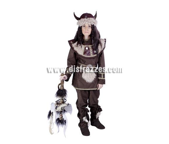Disfraz de Vikingo infantil para Carnaval. Disponible en varias tallas. Hacha NO incluida, podrás ver hachas en la sección de Complementos. Alta calidad. Hecho en España.