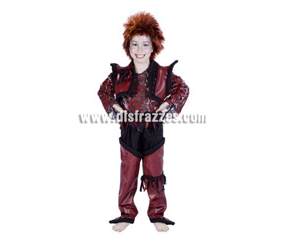 Disfraz de Duendy niño infantil para Carnaval. Disponible en varias tallas. Peluca NO incluida. Alta calidad. Hecho en España.