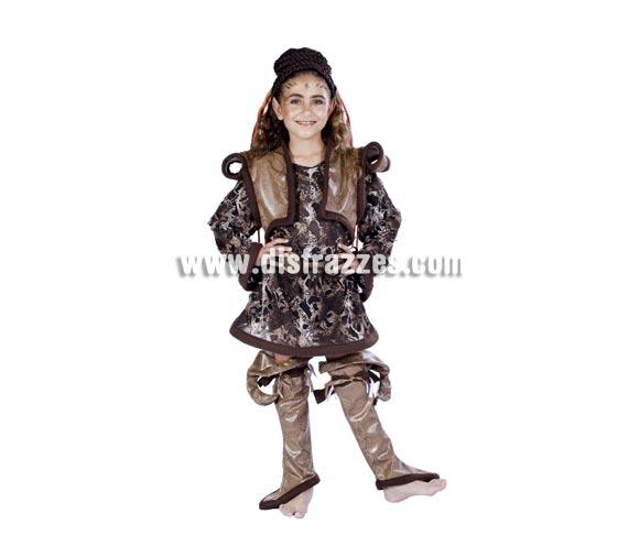 Disfraz de Duendy niña infantil para Carnaval. Disponible en varias tallas. Peluca NO incluida. Alta calidad. Hecho en España.