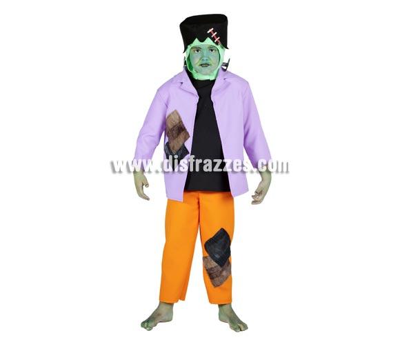 Disfraz de Frankenstein infantil para Halloween. Varias tallas. Buena calidad. Hecho en España.