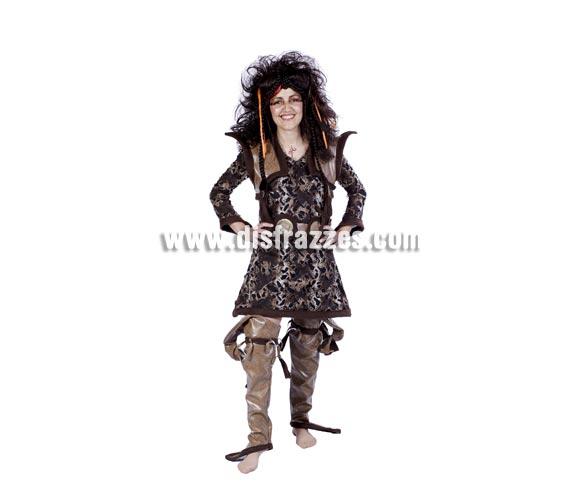 Disfraz de Duendy adulta para Carnaval. Talla única 40/44. Accesorios NO incluidos. Buena calidad. Hecho en España.