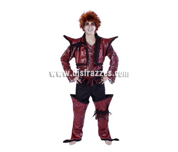 Disfraz de Duendy adulto para Carnaval. Talla única 50. Peluca NO incluida. Buena calidad. Hecho en España.