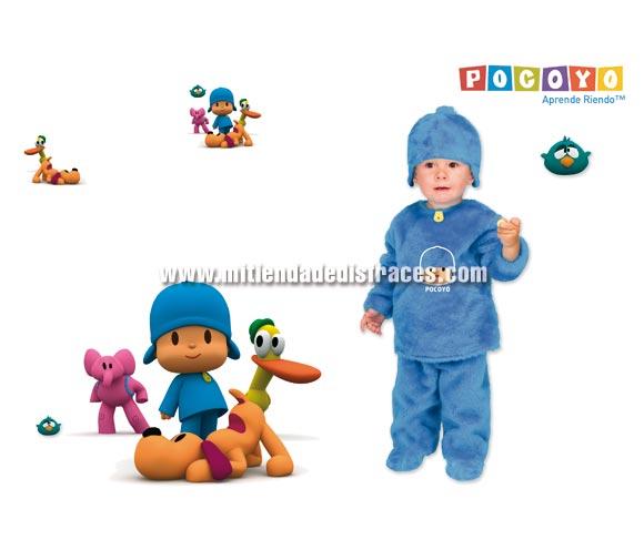 Disfraz barato de Pocoyo lujo para niños (varias tallas)