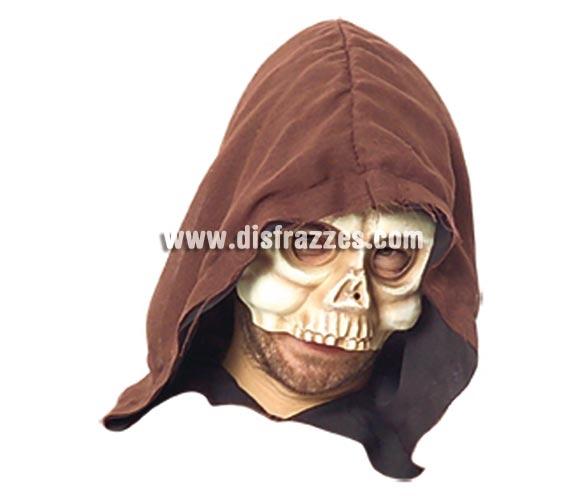 Máscara de Calavera de media cara para Halloween. Tres modelos surtidos. Precio por unidad. Máscara o Careta de Halloween.