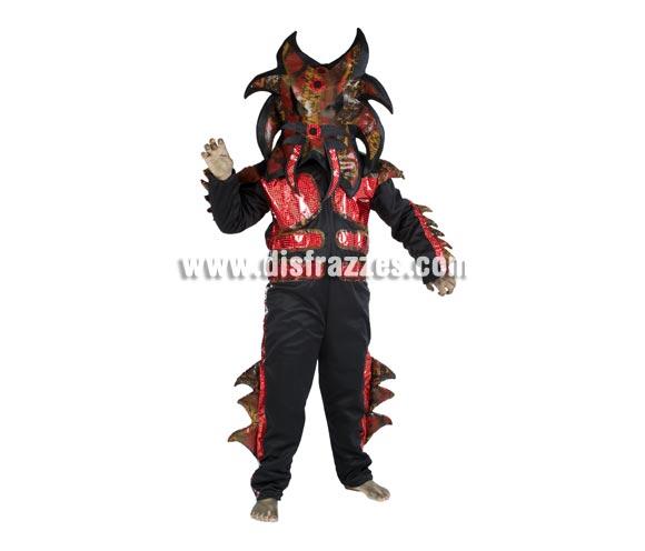 Disfraz de Alien Tigre infantil para Carnaval. Disponible en varias tallas. Alta calidad. Hecho en España.