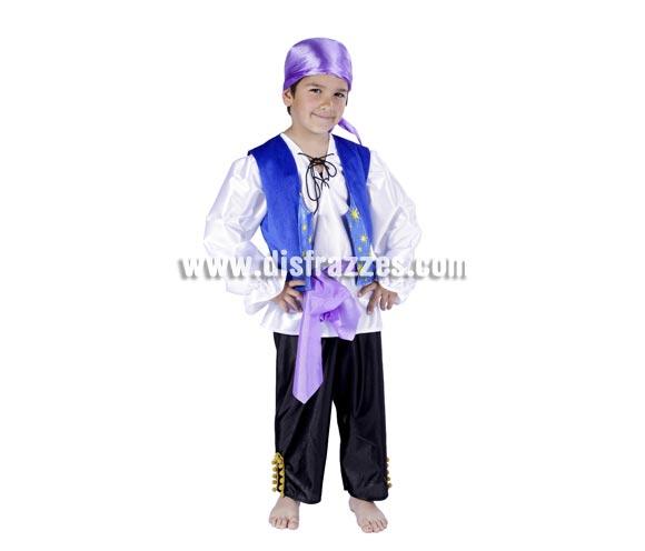 Disfraz de Zíngaro infantil para Carnaval. Varias tallas. Alta calidad. Hecho en España.