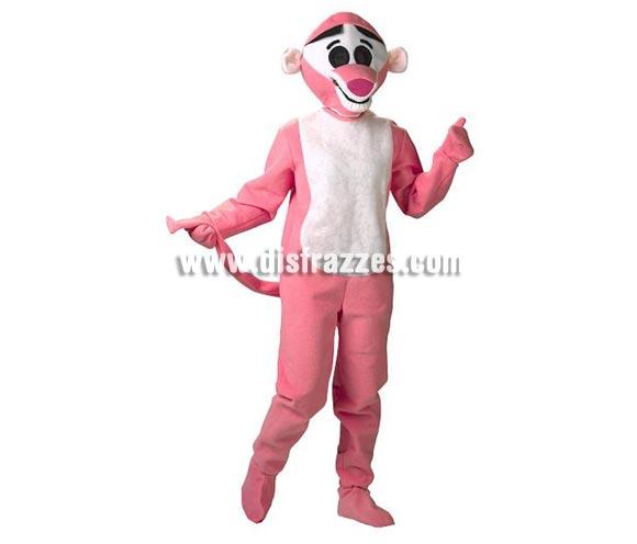 Disfraz de Pantera Rosa para hombre o para mujer. Incluye disfraz completo. Éste disfraz es muy calentito ideal para los sitios donde hace frío. Se por los ojos, lleva una rejilla.