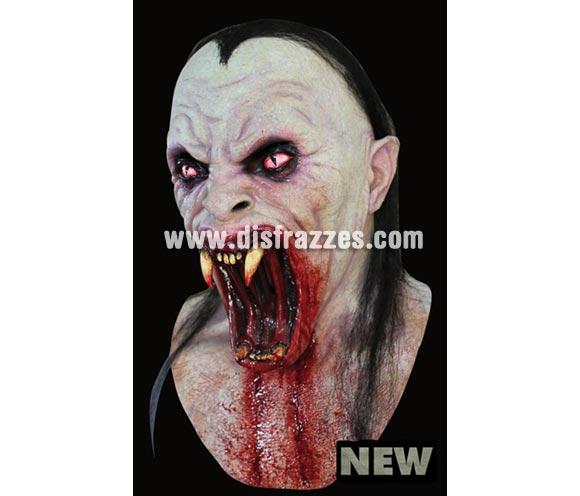 Máscara de Viper latex. Alta calidad. Fabricada en látex artesanalmente por una empresa que hace efectos especiales para películas de Hollywood. Máscara de cabeza entera. Máscara de Diablo o Demonio Vampiro.