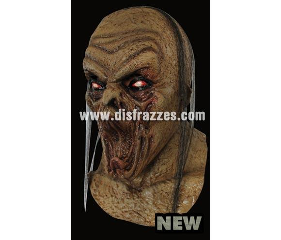 Máscara Incubus de látex. Alta calidad. Fabricada en látex artesanalmente por una empresa que hace efectos especiales para Hollywood. Máscara de cabeza entera. Máscara de Zombie íncubo para Halloween.