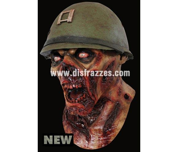 Máscara Captain Lester de latex. Alta calidad. Fabricada en látex artesanalmente por una empresa que hace efectos especiales para Hollywood. Máscara de cabeza entera. Máscara de Zombie del Capitán Lester de latex.