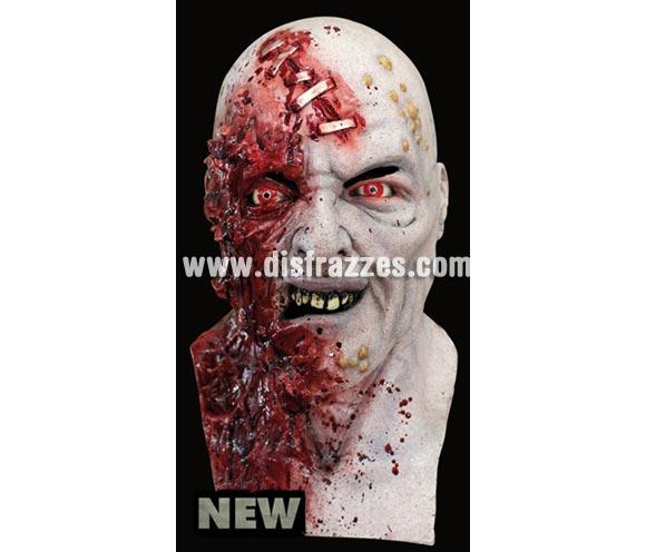 Máscara Necromutant de latex. Alta calidad. Fabricada en látex artesanalmente por una empresa que hace efectos especiales para Hollywood. Máscara de cabeza entera. Máscara de Mutante de latex.