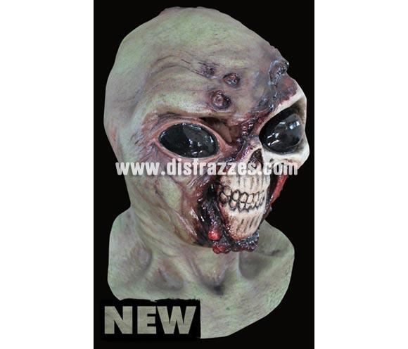 Máscara Alien Zombie infantil de latex. Alta calidad. Fabricada en látex artesanalmente por una empresa que hace efectos especiales para Hollywood. Máscara de cabeza entera.