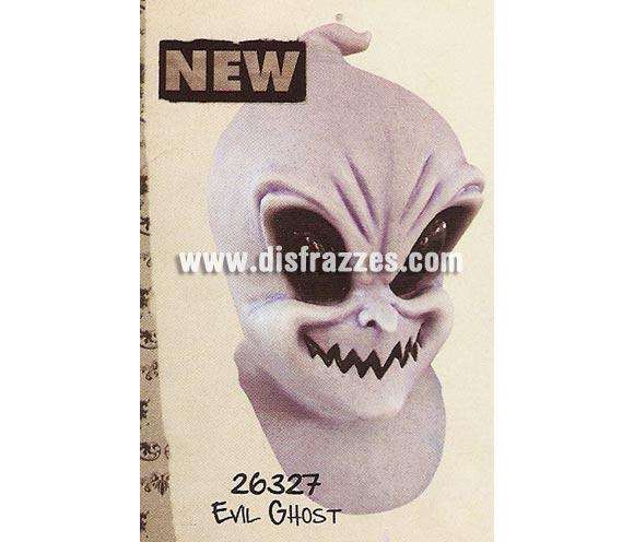 Máscara Evil Ghost de latex. Alta calidad. Fabricada en látex artesanalmente por una empresa que hace efectos especiales para Hollywood. Máscara de cabeza entera. Máscara del Fantasma del mal de latex.