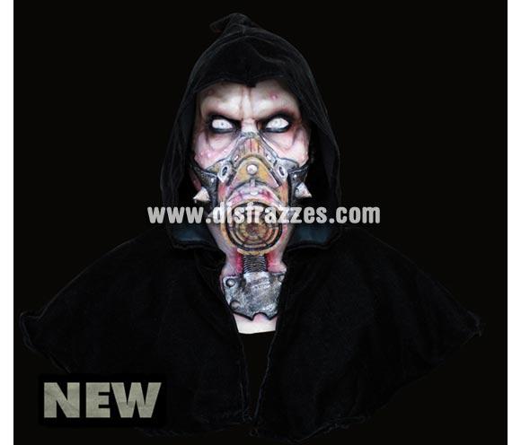 Máscara Biohazard de latex. Alta calidad. Fabricada en látex artesanalmente por una empresa que hace efectos especiales para Hollywood. Máscara de cabeza entera. Máscara de Riesgo biológico de latex para Halloween.