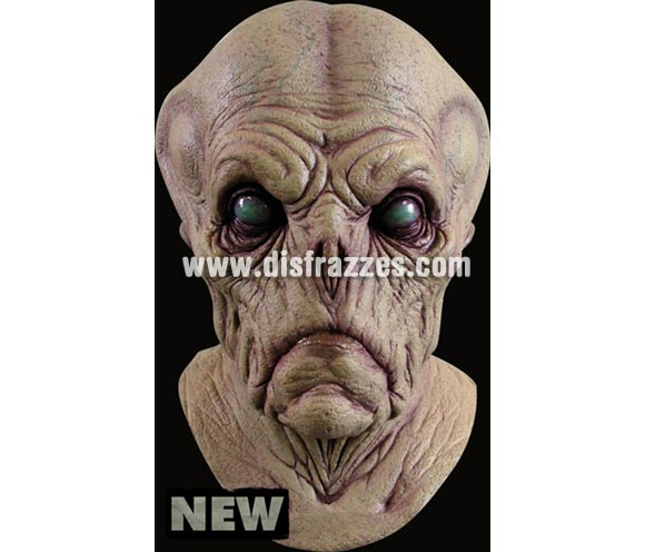 Máscara Alien Probe de latex para Halloween. Alta calidad. Fabricada en látex artesanalmente por una empresa que hace efectos especiales para Hollywood.