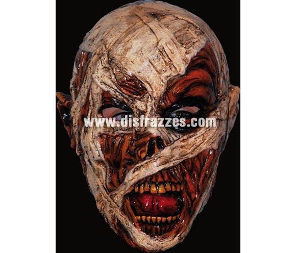 Máscara Mummy de latex. Alta calidad. Fabricada en látex artesanalmente por una empresa que hace efectos especiales para Hollywood. Máscara de Momia Zombie de latex para Halloween.