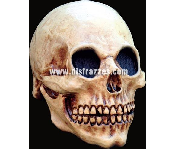 Máscara Head Skull de latex. Alta calidad. Fabricada en látex artesanalmente por una empresa que hace efectos especiales para Hollywood. Máscara cráneo calavera de latex para Halloween.