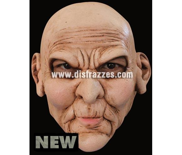 Máscara Madeface de latex. Alta calidad. Fabricada en látex artesanalmente por una empresa que hace efectos especiales para Hollywood. Máscara de Cara enojada o enfadada de latex. Máscara de Abuelo o Viejo enfadado.