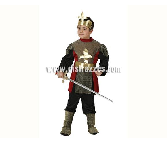 Disfraz de Caballero Medieval para niños de 3 a 4 años. Espada NO incluida, podrás ver espadas en la sección de Complementos - Armas.