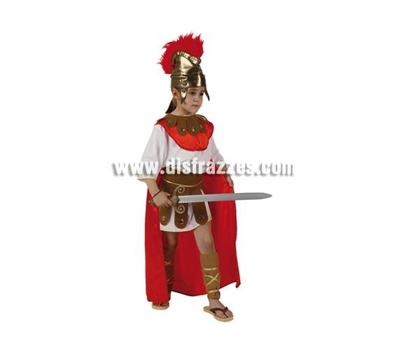 Disfraz de Guerrero Romano para niños de 5 a 6 años. Espada NO incluida, podrás verla en la sección de Complementos.
