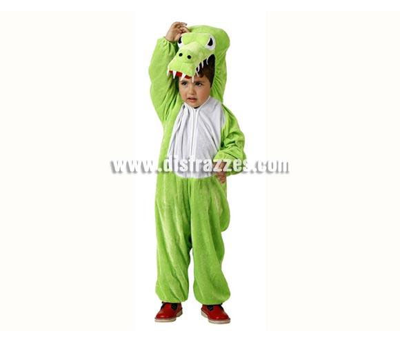 Disfraz de Cocodrilo para niños de 3 a 4 años. Incluye disfraz completo.