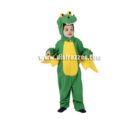 Disfraz de Dragón con alas para niños de 5 a 6 años. Incluye traje completo.