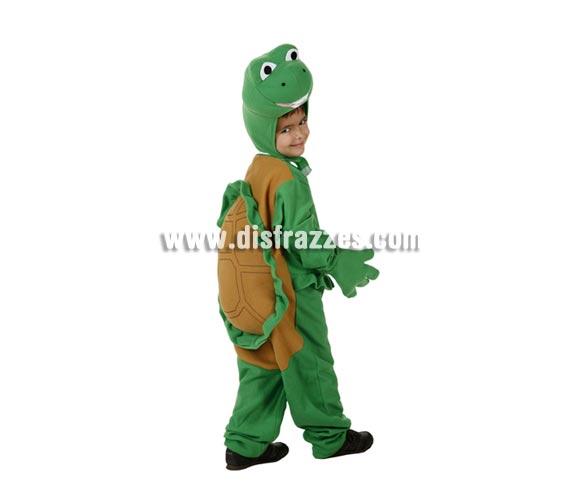 Disfraz de Tortuga para niños de 3 a 4 años. Incluye disfraz completo.